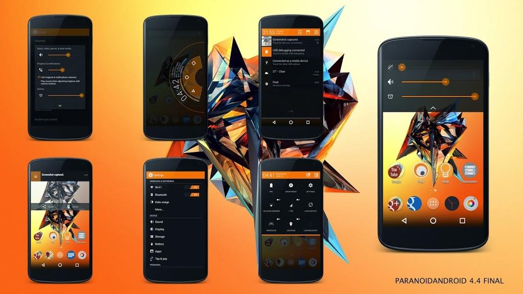 Paranoid Android versión final 4.4.4