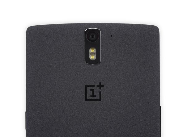 Detalle OnePlus One (Trasero)
