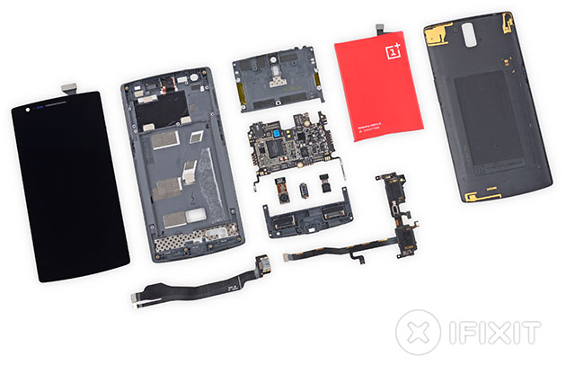 Partes OnePlus One - iFixit