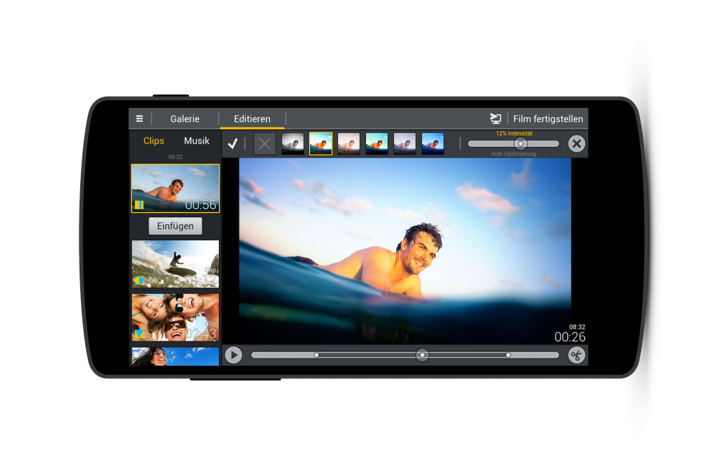 MagixMovieEditorAndroid-Demo