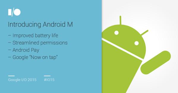 Android-M-Google-IO-2015
