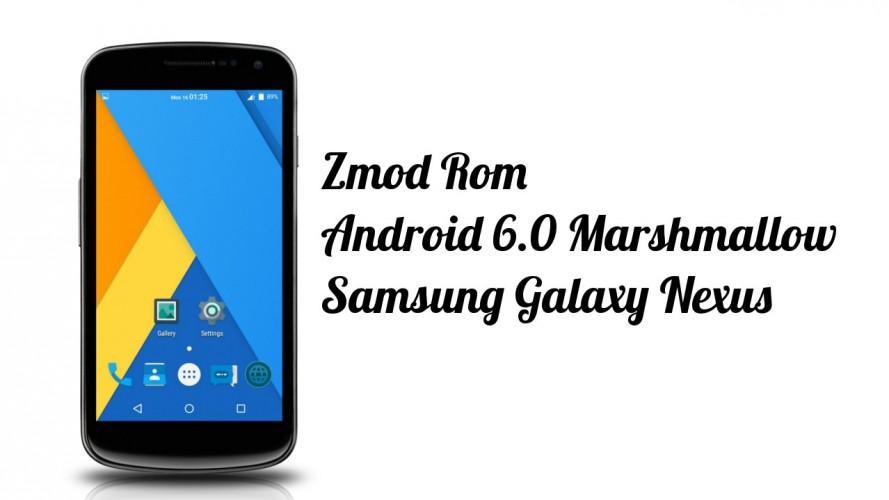 Como instalar Android Marshmallow en el Samsung Galaxy Nexus