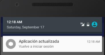 Ejemplo notificacion Android