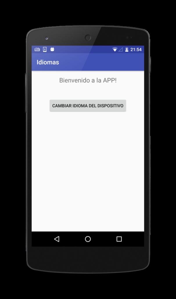 Como añadir diferentes idiomas en tu app android