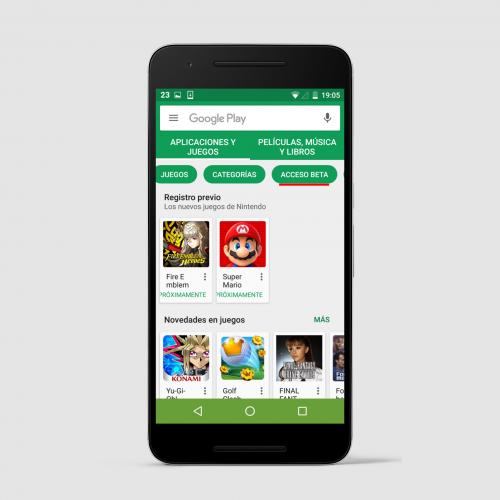 Probar aplicaciones beta de la Play Store