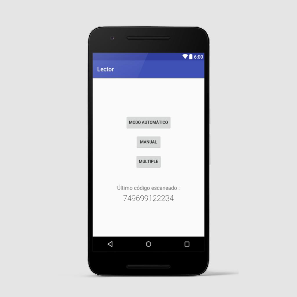 Como añadir un lector de códigos de barras en una app