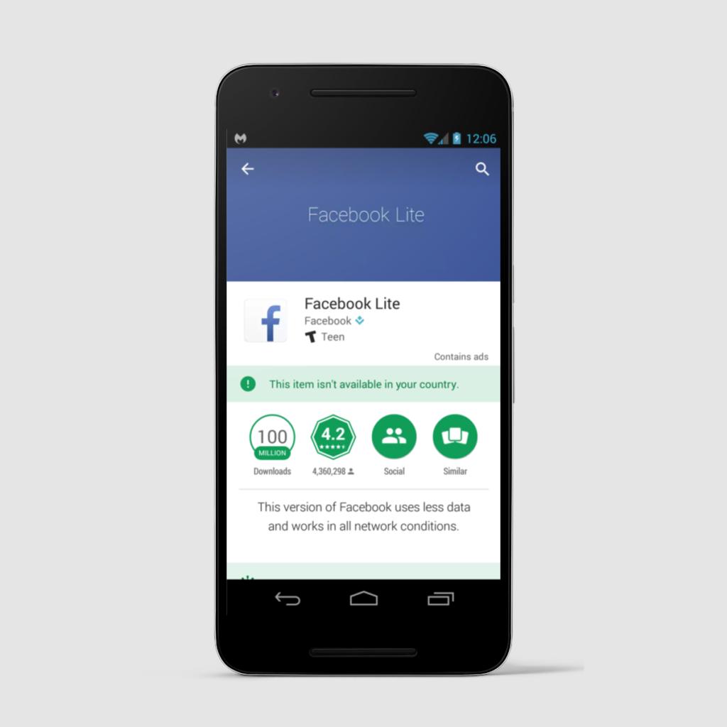 Un APK de Facebook Lite viene acompañado de malware