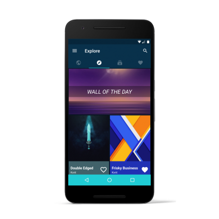 backdrops - wallpapers Android
